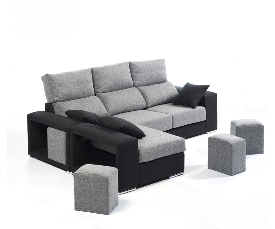 Comprar sof con chaise longue burdeos precio chaise for Sofa con chaise longue