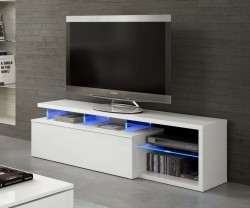 Mueble para TV con leds Boston
