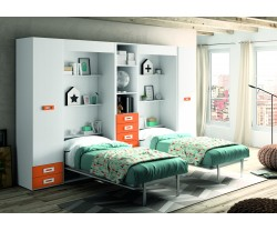 CAMA ABATIBLE VERTICAL AKI